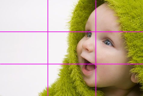 Don't Always be the Center of Attention: rule of thirds
