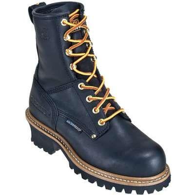 Carolina Boots: Women's Waterproof Black Logger CA420