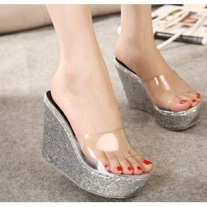 Wedges Jelly Silver