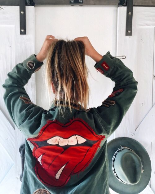 I think I need this Rolling Stones military inspired jacket in my life. Anyone know where to find it?