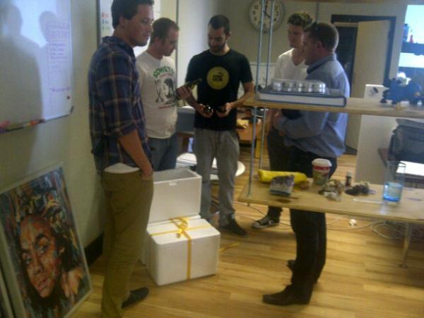 #KopparbergCider team visits VA