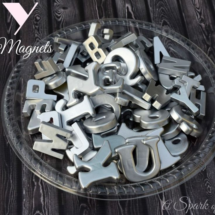 DIY Silver Magnets