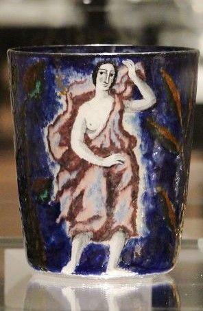 Carl Goldberg, Nový Bor (Haida); Lotte Fink, Vase, 1922