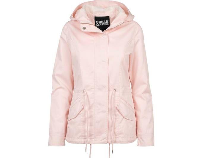 Urban Classics Ladies - Basic Cotton Parka Jacke rosa - S Jetzt bestellen unter: https://mode.ladendirekt.de/damen/bekleidung/jacken/sonstige-jacken/?uid=872c525e-ccef-5ab0-add9-a7455dc4b07a&utm_source=pinterest&utm_medium=pin&utm_campaign=boards #sonstigejacken #bekleidung #jacken