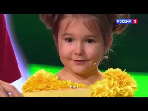 Amazing baby! 4 year old Russian girl speaks 7 languages fluently. WOW! - YouTube