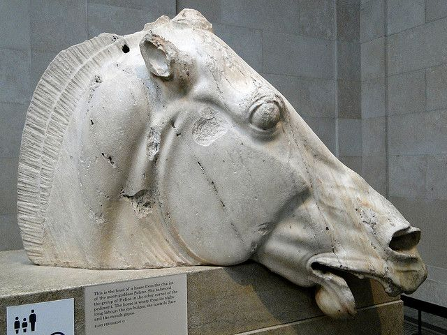 Parthenon Sculptures (Elgin Marbles), 447-432 BC British Museum