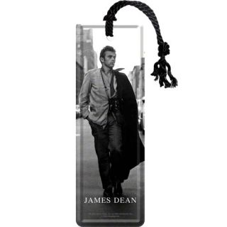 Nostalgic Μεταλλικός σελιδοδείκτης 5x15εκ. 'James Dean Road'