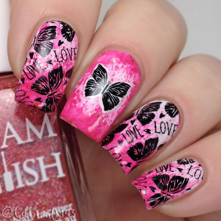 110 best Luna nail stamping images on Pinterest | Manicure, Nail art ...