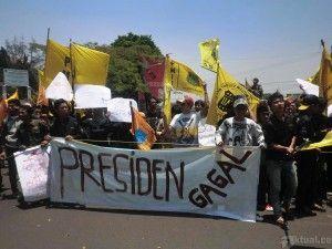 Bentrok Dengan Polisi, 3 Aktivis PMII Di Tangkap