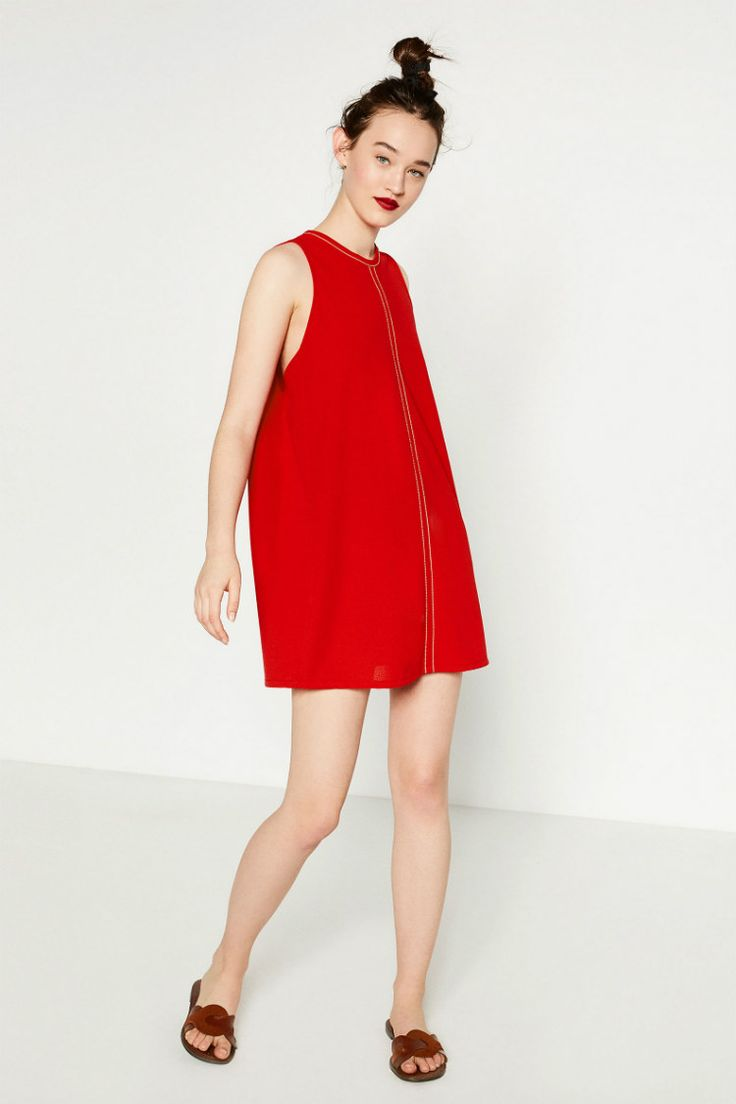 ¡El color rojo es el color más atractivo, alegre y favorecedor del verano, y hoy en Modalia te proponemos los mejores vestidos rojos de Zara! ¿A qué esperas para hacerte con tu favorito?  #Modalia #Zara #Vestidos #Rojo | http://www.modalia.es/marcas/zara/vestidos-zara/11305-vestidos-rojos-veraniegos-zara-2016.html