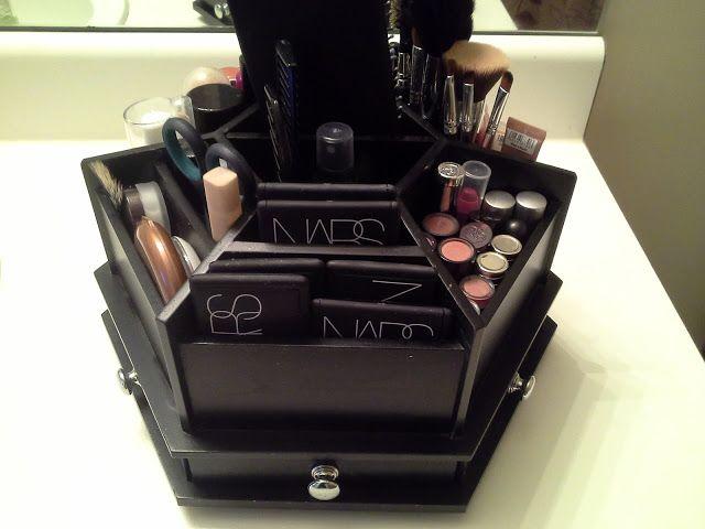 Makeup Organization using Craft Organizer!