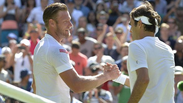 Federer ousts Groth from Wimbledon - News - SportsFan