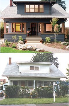 Before and After | 1909 craftsman bungalow | Portland, OR | Arciform LLC