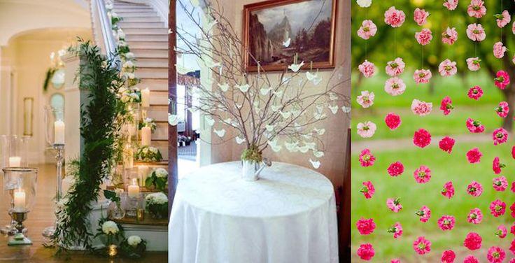 matrimonio decorazioni casa