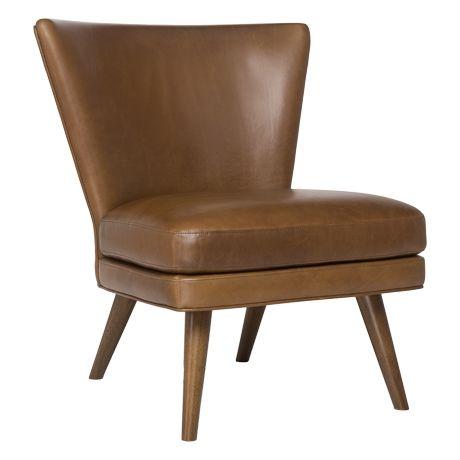Wing Chair Hunter Tan #lovecominghome