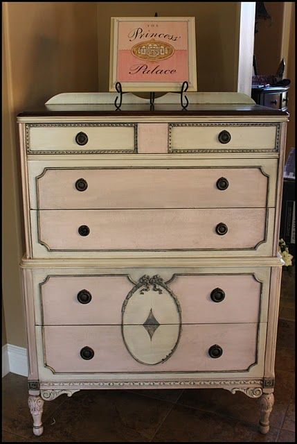 This is a refinish to see the before visit her blog. Now off to find a vintage chest this weekend for a redo!