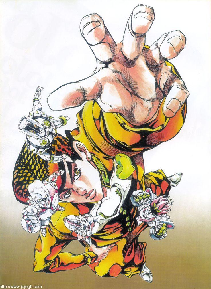 画像 : クリエイティブすぎるジョジョの壁紙アート [荒木飛呂彦] - NAVER まとめ