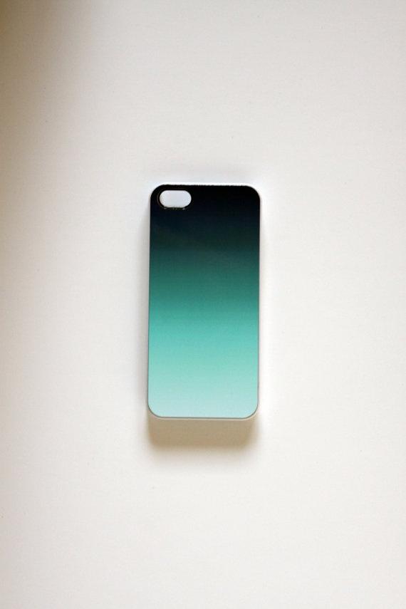 iPhone 5 Case blue ombré by ScribblesandStripes on Etsy, $14.00