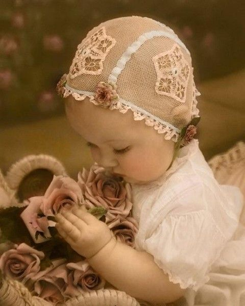 cute vintage baby