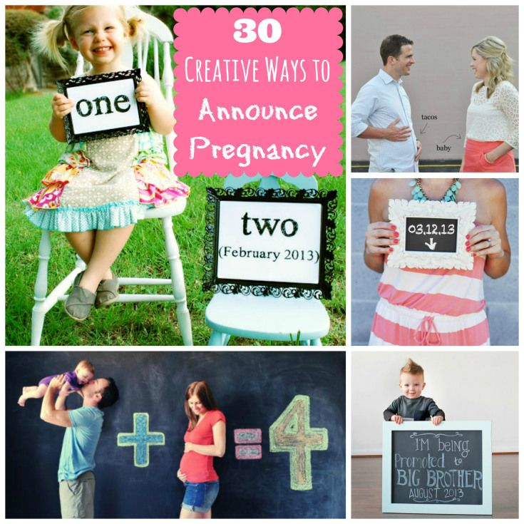 1000 images about Pregnancy Announcements – Creative Ways to Announce Baby Birth