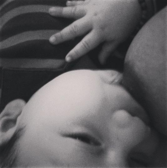 mi bebe dandole lo mejor de mi ♥