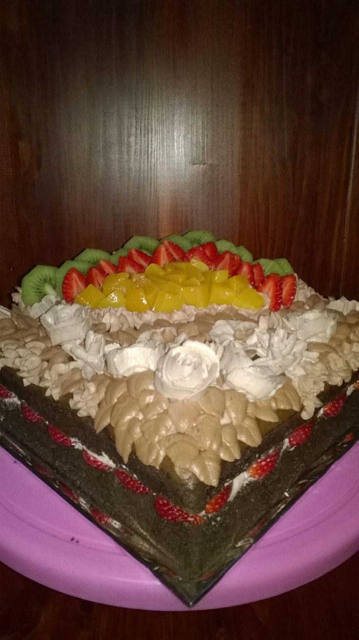 Choco and fruits