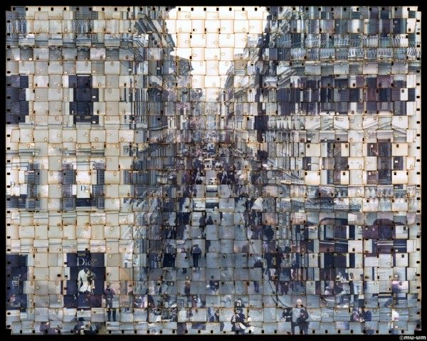South Korean photographer Seung Hoon Park has been working on a series called TEXTUS, where she weaves together photographs into one single image. It appears that she is placing multiple individual images together into one seemingly consistent image.