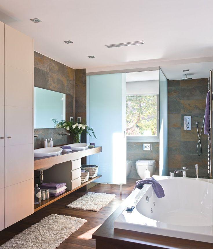 Un baño abierto al dormitorio · ElMueble.com · Cocinas y baños