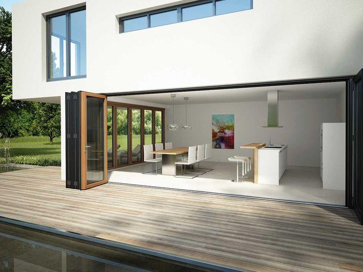 Die besten 25+ Faltwand Ideen auf Pinterest Holz sägen - offene kueche wohnzimmer abtrennen glas