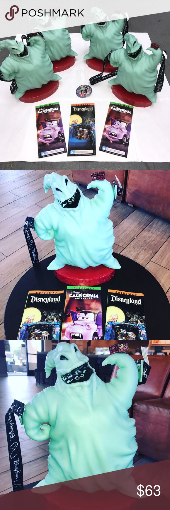 """DISNEYLAND (2) """"OOGIE BOOGIE POPCORN BUCKETS"""" DEAL New (2) DISNEYLAND (2017) NIGHTMARE BEFORE CHRISTMAS EXCLUSIVE """"OOGIE BOOGIE COLLECTIBLE POPCORN BUCKETS"""" !! ...THESE COOL """"OOGIE BOOGIE POPCORN BUCKETS"""" ARE THE MOST POPULAR AND """"HIGHEST SELLING"""" COLLECTIBLE ITEM FOR THE ENTIRE YEAR OF (2017) AT """"DISNEYLAND"""" ...... MANY PEOPLE WAITED HOURS IN LINE JUST TO BUY THESE POPCORN BUCKETS ... AND THEY ARE STILL SELLING AT """"VERY HIGH PRICES"""" ON ( EBAY - AMAZON - ETSY ) ... GET YOURS TODAY BECAUSE…"""