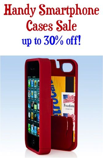 Handy Smartphone Cases Sale: up to 30% off! {$19.99+}