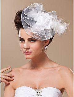 Women's Tulle Headpiece-Wedding Special Occasion Fascinators