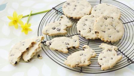 Easter garibaldi biscuits