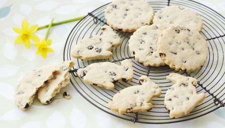 Try making these fruity garibaldi biscuits for Easter.