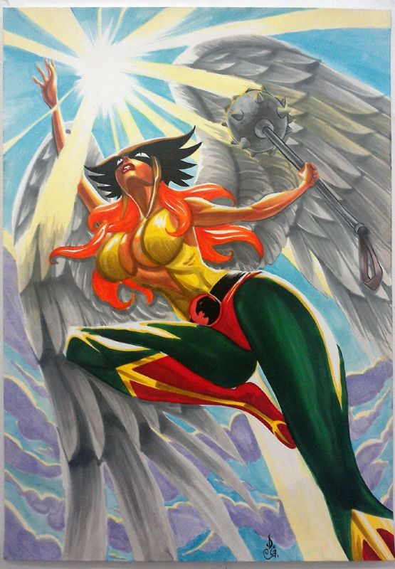 Hawkgirl by Doc Goose