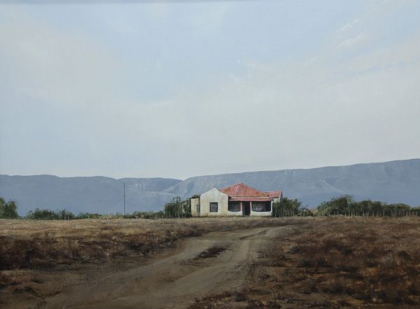 """Near Middleberg"" Acrylic on Canvas 1200mm x 900mm"