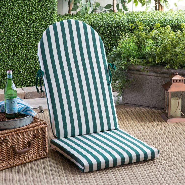 POLYWOOD® 49.5 X 20 Sunbrella Adirondack Chair Cushion | From Hayneedle.com