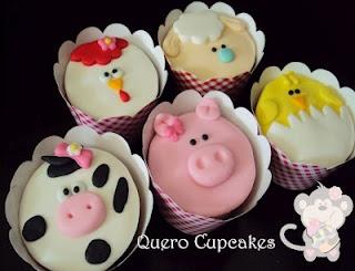 Fazendinha Pink | Portfólio Quero Cupcakes