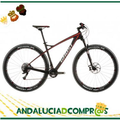 Para los amantes del ciclismo, Ciclos Quinto nos propone regalar para estas fechas esta Bicicleta de Montaña Ghost HTx7LC de color negro y roja. Entra ya en su web de Andalucía de Compras y conoce todas sus prestaciones y promociones: https://www.andaluciadecompras.es/portal/web/ciclos-quinto