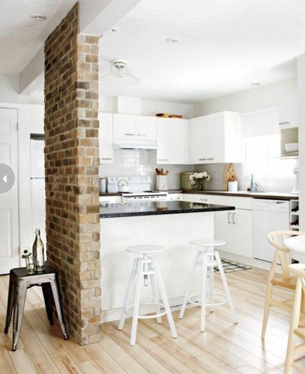 les 25 meilleures id es de la cat gorie brique de parement sur pinterest parement en brique. Black Bedroom Furniture Sets. Home Design Ideas