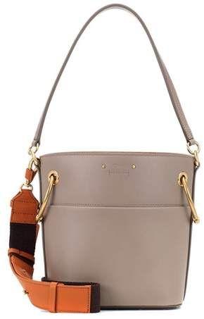 2b4a964555b Chloé Small Roy leather bucket bag