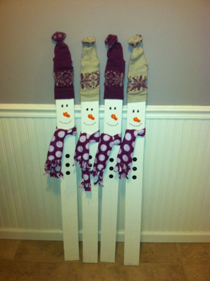 Picket Fences Fence And Snowman On Pinterest
