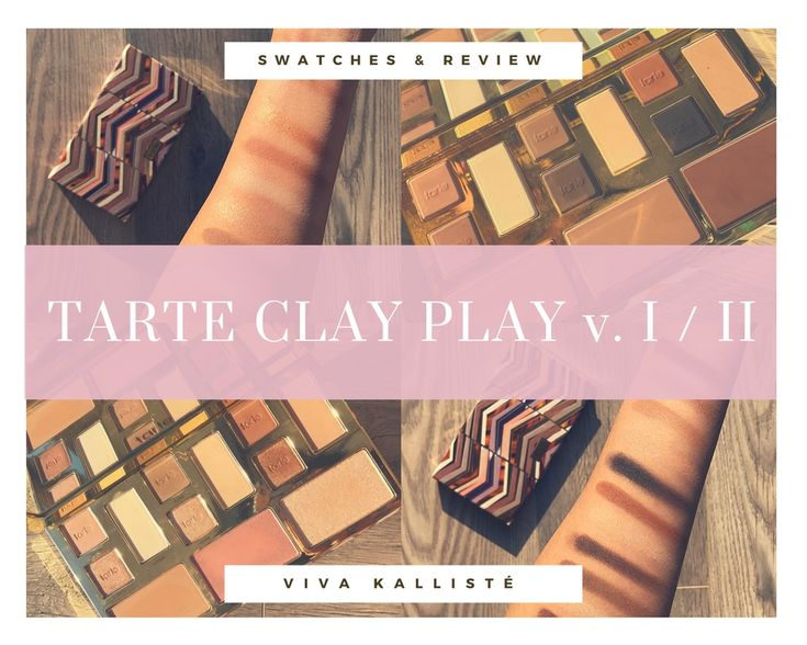 SWATCHES & REVIEW: TARTE COSMETICS CLAY PLAY VOLUME II PALETTE! IS IT WORTH IT?  VISIT MY BLOG & SEE FOR YOURSELF! LET ME KNOW WHAT YOU THINK AND MAKE SURE TO FOLLOW AND LIKE/COMMENT IF YOU ENJOY IT! X  #TARTE #COSMETICS #CLAY #PALETTE #MAKEUP #BEAUTY #BEAUTYBLOG #BEAUTYBLOGGER #EYESHADOW #CONTOUR #LOVE #BLOG #FASHION