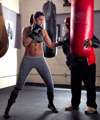 Boxer Mary Spencer is amazing.