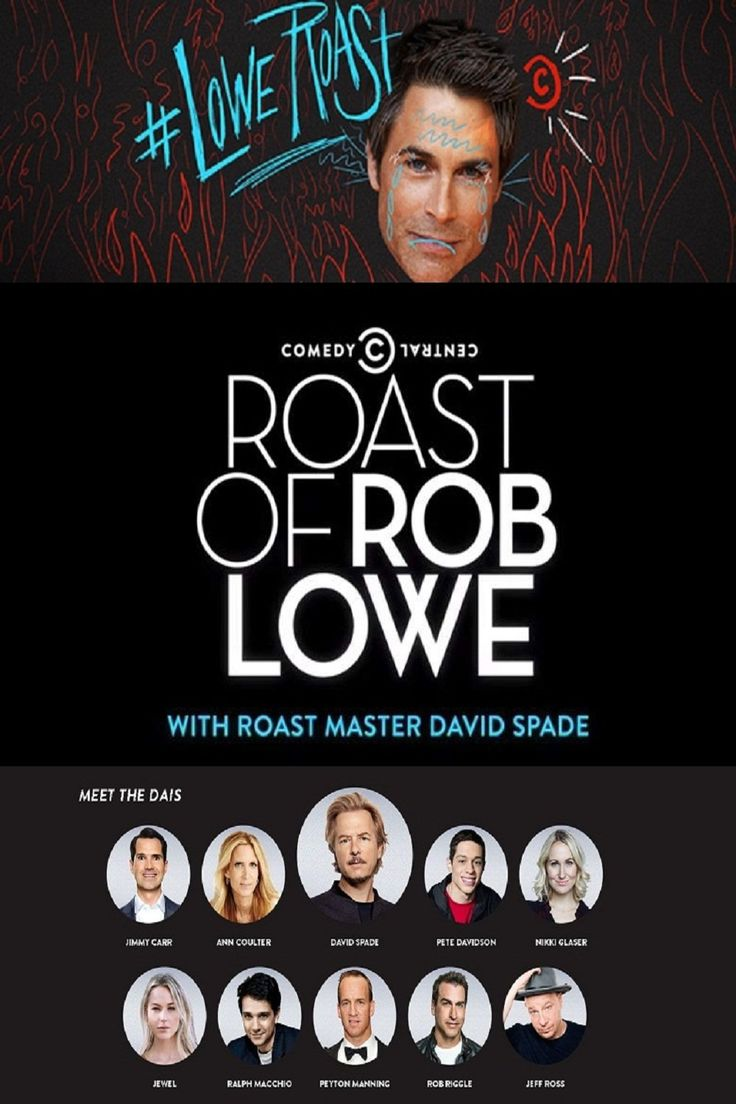 Watch Comedy Central Roast of Rob Lowe online for free | CineRill