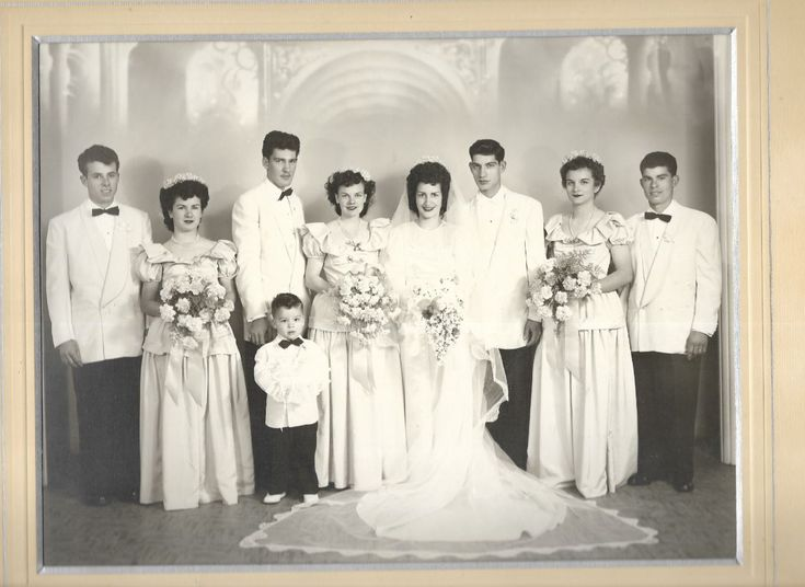 """This is a """"Unknown"""" Wedding Photo  The Photgraphers name is """"N. Giannini"""", San Leandro, California, USA"""