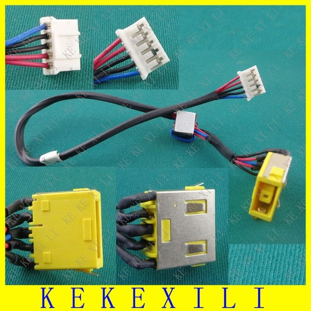 New Laptop Dc Power Jack Cable Charging Socket Plug Port Cable For