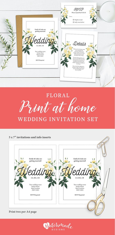 Attractive Wedding Invitations Donegal Embellishment - Invitations ...