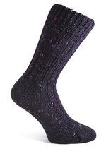 BRANDUBH, vlněné ponožky, Donegal, vyrobeno v Irsku