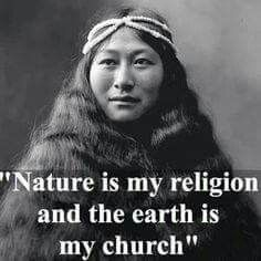 Nature + Earth = religion